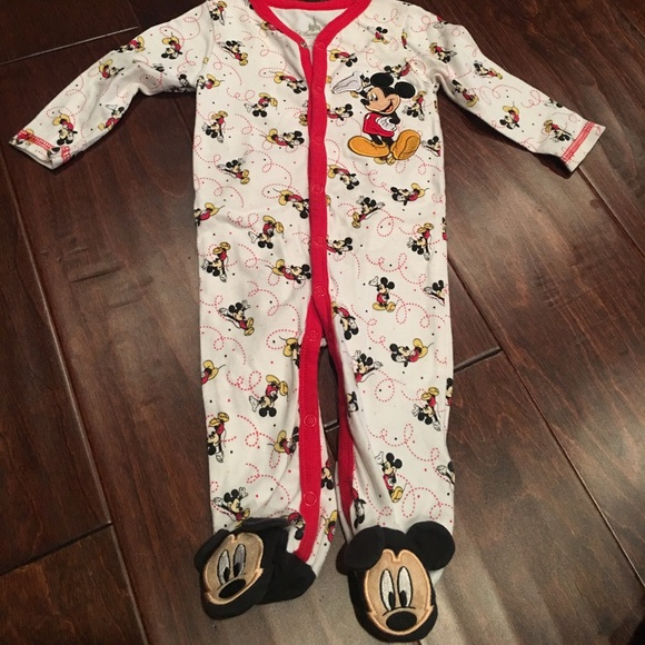 0e59856bc Disney One Pieces | Mickey Mouse Footed Pajamas Or Onesie | Poshmark