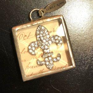 Jewelry - Jewel Kade Fleur de Lis charm NEW!