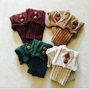 Accessories - Crochet Knit Cuffs Bundle