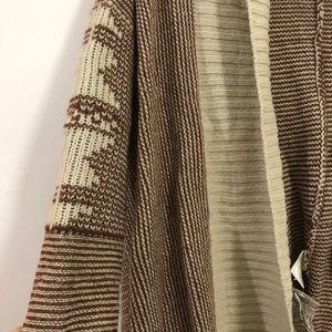 BB Dakota Sweaters - BB Dakota boho cardigan/ shawl