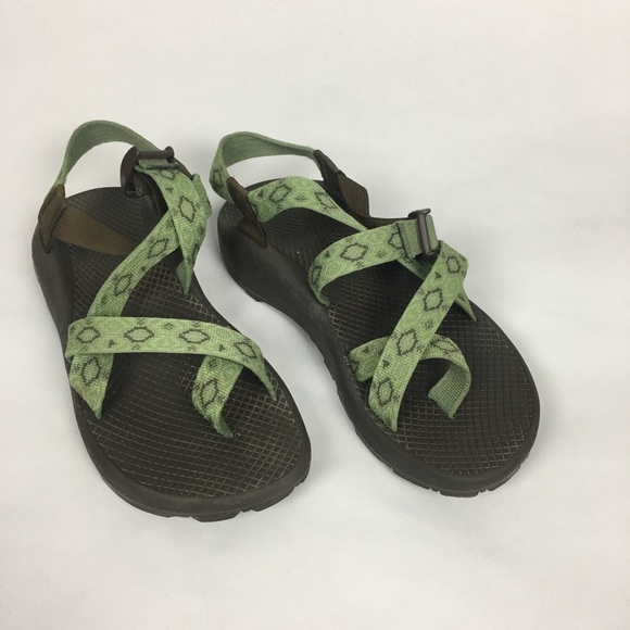 cefb361c3c1 Chaco Shoes - Chaco Green Outdoorsy Sandals Women s 8