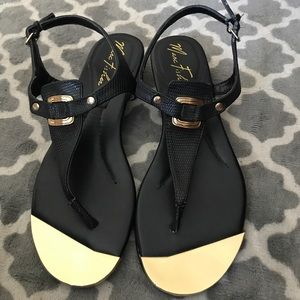✨Brand New!! ✨Mark Fisher Black Sandals!