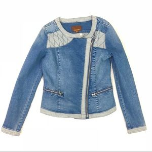 Hive & Honey Jean Moto Jacket
