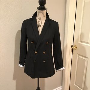 Never been worn - GAP Double Breasted Black Blazer