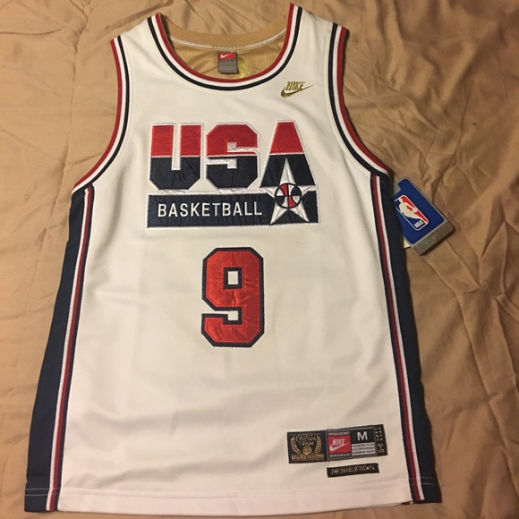 02809013f95 Nike Other | 92 Dream Team Michael Jordan Usa Jersey Youth Med ...