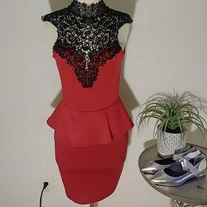 Red/black dress [361]