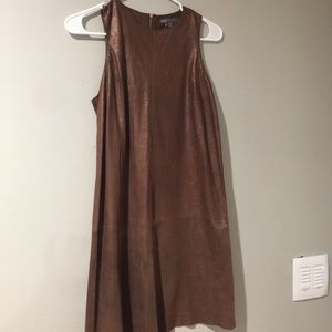 100% leather Vince Camuto Dress