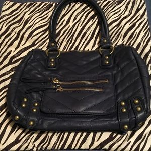 Linea Pelle Dylan Quilted Chevron Speedy bag