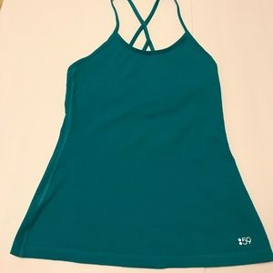 Split 59 yoga/ active wear performance tank top