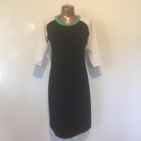fab1c956f72c Ampersand Avenue Dresses   Skirts - Ampersand Avenue Baseball Cotton Long  Sleeve Dress