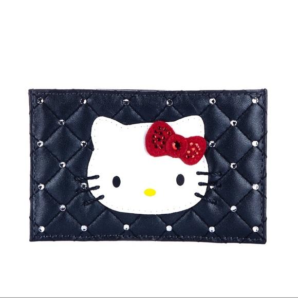 8d085d5cc Swarovski Accessories | Hello Kitty Card Holder | Poshmark