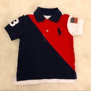Ralph Lauren Baby Boy Polo Short 12M