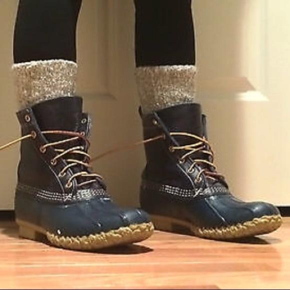 5231cdaf98d LL Bean Women's thinsulate raven Bean Boots 9