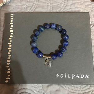 Jewelry - Silpada Blue Lapis Confection .925 Bracelet.