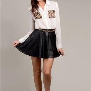 Dresses & Skirts - Black Skater Skirt