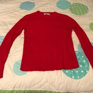 Sag Harbor Red Sweater