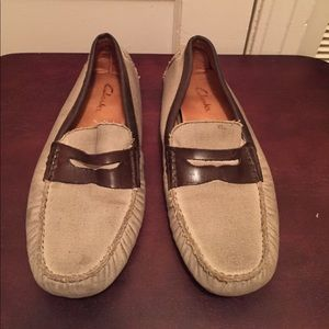 Mens Clark Loafers size 10