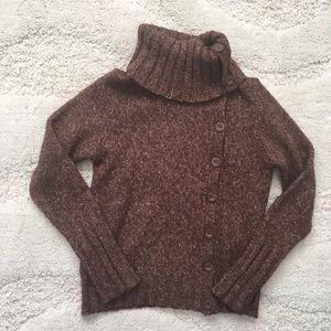 BCBG button sweater