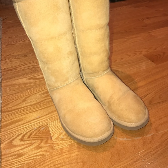 UGG Shoes | Yellow Tall Ugg Boots