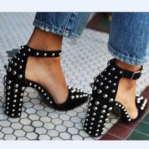 💥SALE💥Alexander Wang ELISE Studded Heel Pumps