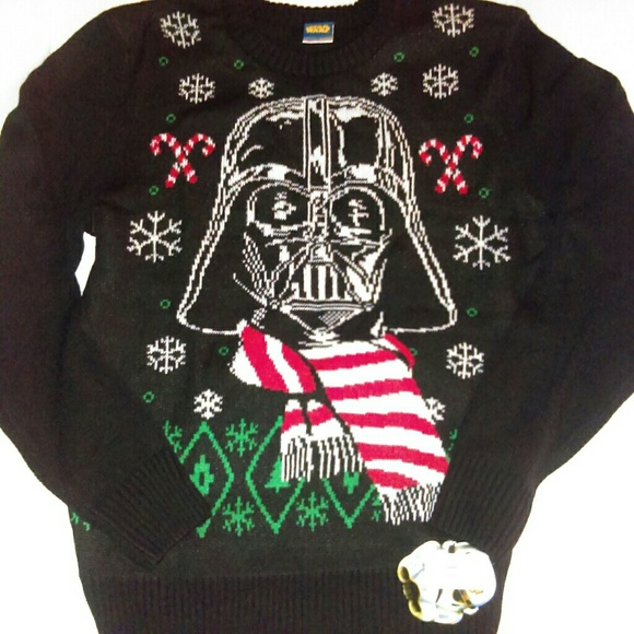 35acbc750b1366 Star Wars Darth Vader Christmas Sweater Men Sz Med.  M_5a03c20ffbf6f960c3012e24