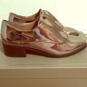 BCBG MaxAzria Gun Metal loafers