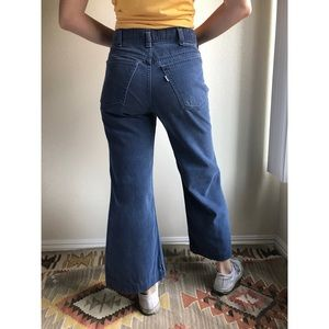 [vintage] Levi's RARE dusty blue bell bottoms