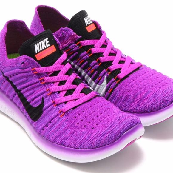 online store 1d313 6c275 Nike Free RN Flyknit Hyper Violet Sneakers. M 5a03c1e056b2d6932701248d