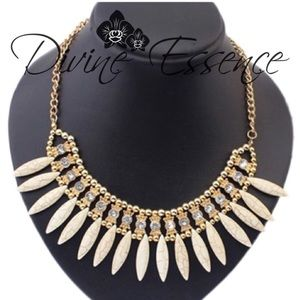 Divine Essence Jewelry - SHE'S THE ONE SPIKED NECKLACE