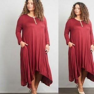 Dresses & Skirts - 🌟HOST PICK🌟Plus Size 3/4 Sleeve Maxi Dress