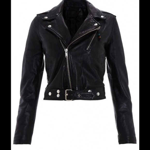 BLK DNM Jackets & Blazers - BLK DNM MOTO LEATHER JACKET 1