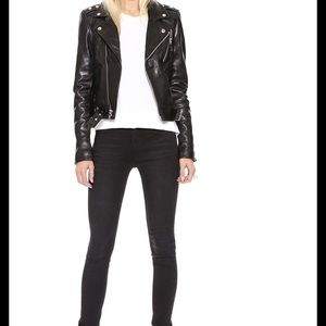 BLK DNM Jackets & Coats - BLK DNM MOTO LEATHER JACKET 1