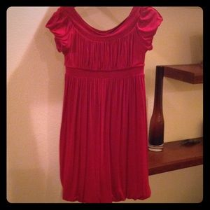 Muse red dress