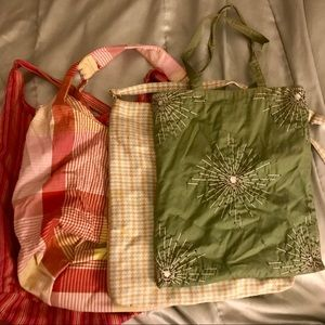 4 Cloth Purses/bags