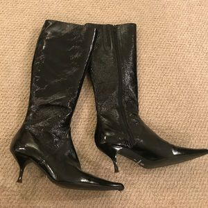 Shoes - Gallorini patent leather boot
