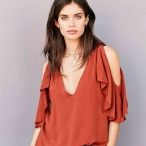 NEW Urban Outfitters Silence + Noise blouse m