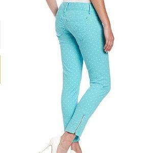 Lilly Pulitzer Worth Skinny Mini Jeans Sz 8
