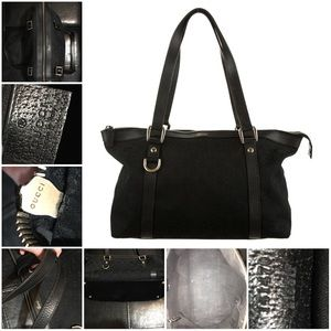 FINAL SALE!! Means FIRM!!!!!!! Gucci Abbey Tote