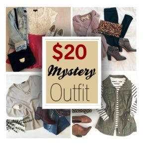 $20 Mystery Box Outfit Sizes XS-4X & Juniors
