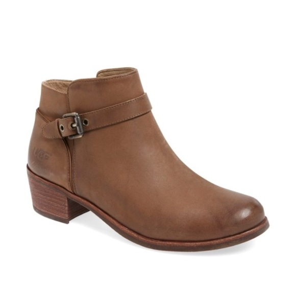 7e327d9dbb4 NWT $180 UGG Bellamy leather bootie boot 8 NWT