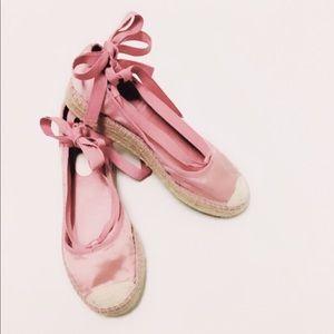 d553b173a Report Shoes   Zahara Satin Espadrilles Ballerina Flats   Poshmark