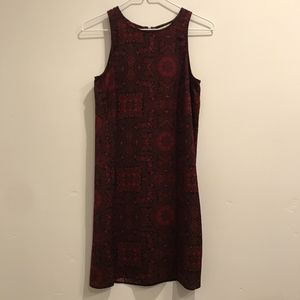 Cute red and black Urban Outfitters shift dress.
