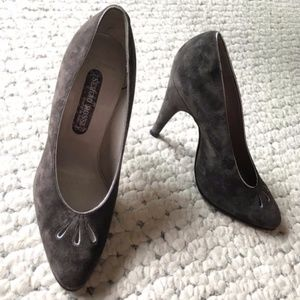 Sergio Rossi$1198 Leather Peep Toe Pumps NEW Heels