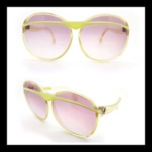 Vintage Charles Jourdan 1970's Sunglasses