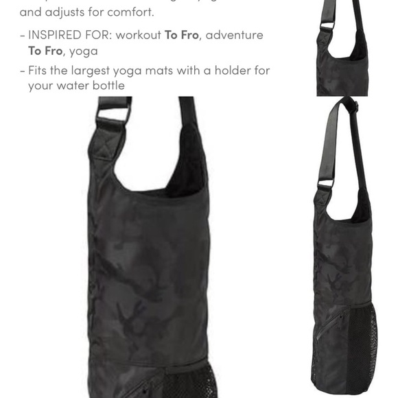 Athleta Handbags - Athleta Camo Yoga Mat Tote a89381567