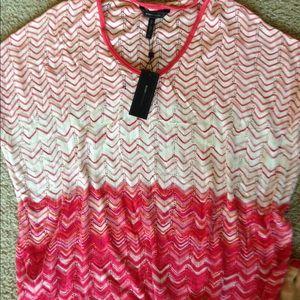 BCBGMAXAZRIA ovesrized knit top,sz.S!!!NWT