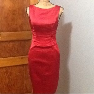 Cache red formal dress
