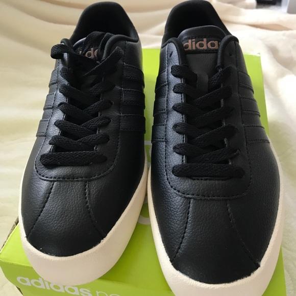 2adidas neo vulc leather