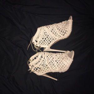 Windsor Open toed heels 👠