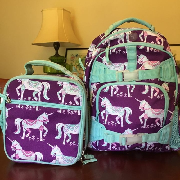 Pottery Barn Backpack And Lunch Box